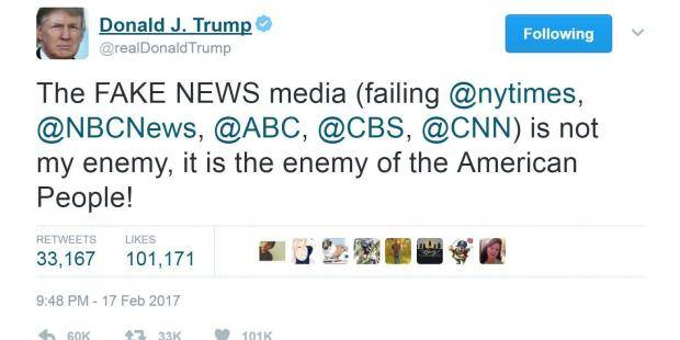 Trump's Goals in the War on theMedia